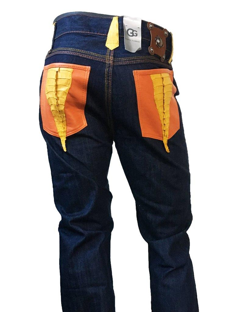 Jake Wood Exotic Jean Made in USA