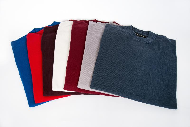 Tulliano Silk Knit Mock Sweaters
