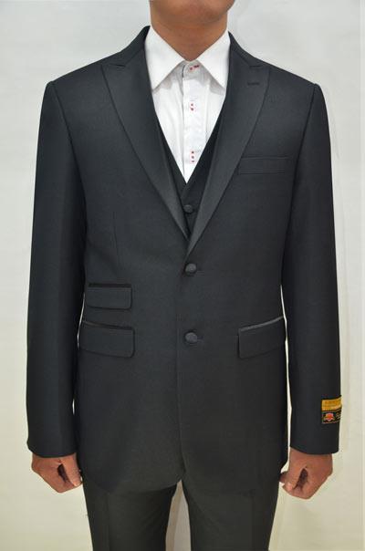 Alberto Nardoni Single Button Tuxedo Suit
