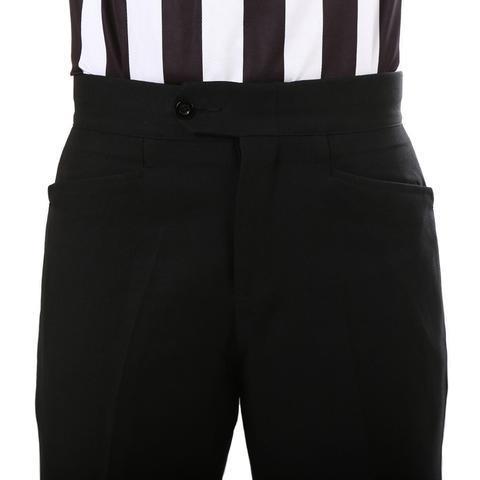 Ascott Browne Referee Gabardine Twill Wester Top Pockets Black