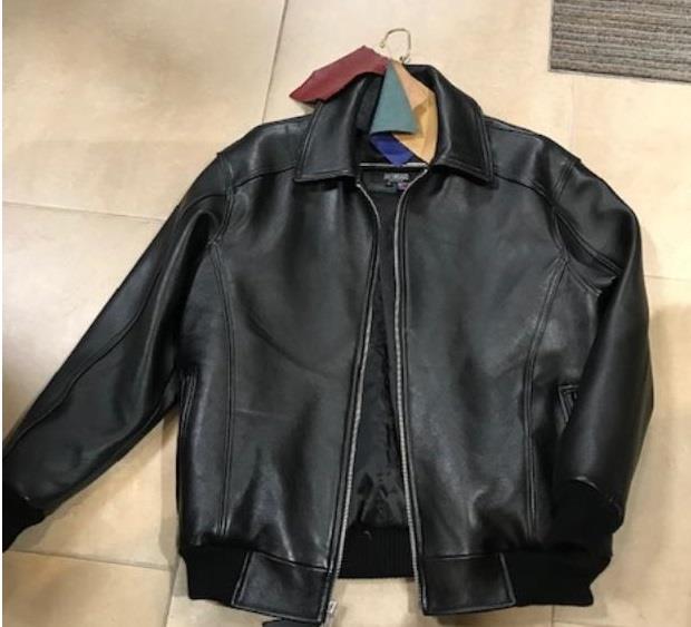 G Gator Jake Wood Basic Leather Jacket 2066