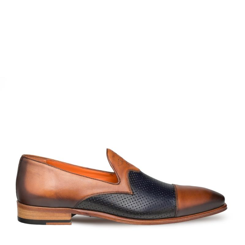 Mezlan Bora Calfskin Cap Toe Slip On Shoe 9522