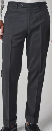 New Spring 2021 Zanella Todd Flat Front Slack Grey