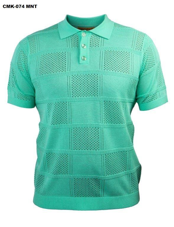 Prestige Knit Short Sleeve Polo CMK-074
