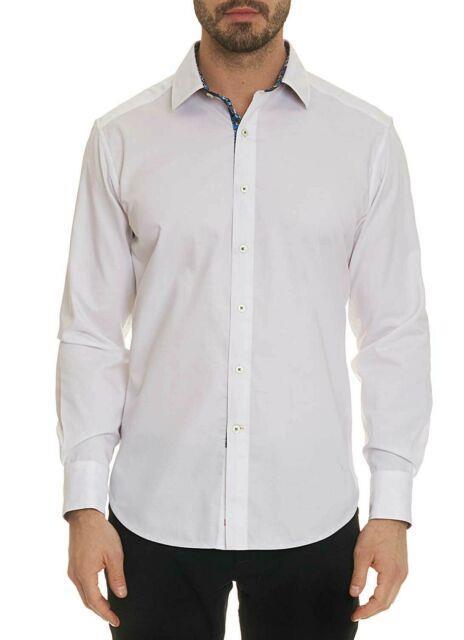 Robert Graham Bridgeman Woven Sport Shirt White Stock
