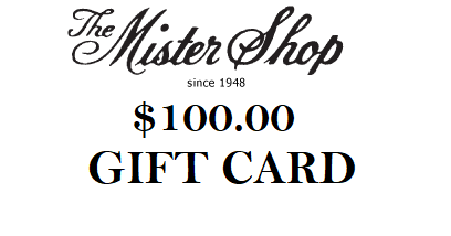 THE MISTER SHOP GIFT CARD $100