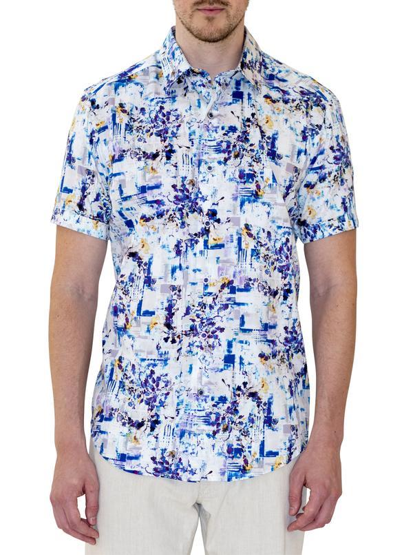 Robert Graham Hirsh Short Sleeve Shirt Multi