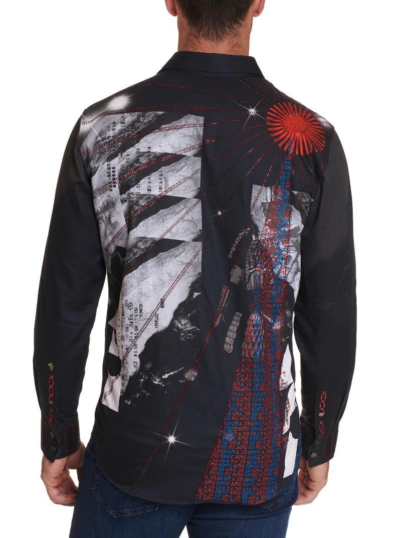 NEW ROBERT GRAHAM LIMITED EDITION Rgs Path to 20 SPORT SHIRT