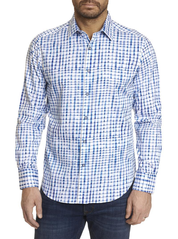 NEW Robert Graham Andres Long Sleeve Sport Shirt
