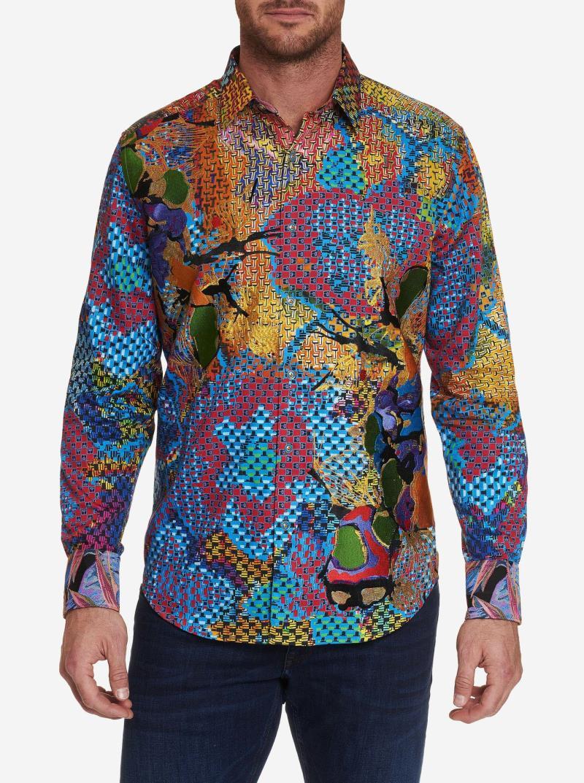NEW Robert Graham Limited Edition Hot Shot Sport Shirt