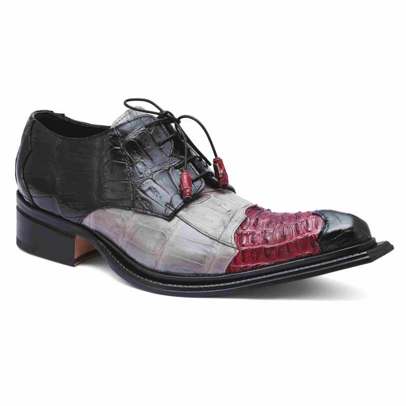 2020 Fall Mauri Piave Baby Crocodile Lace Up Shoe 44207