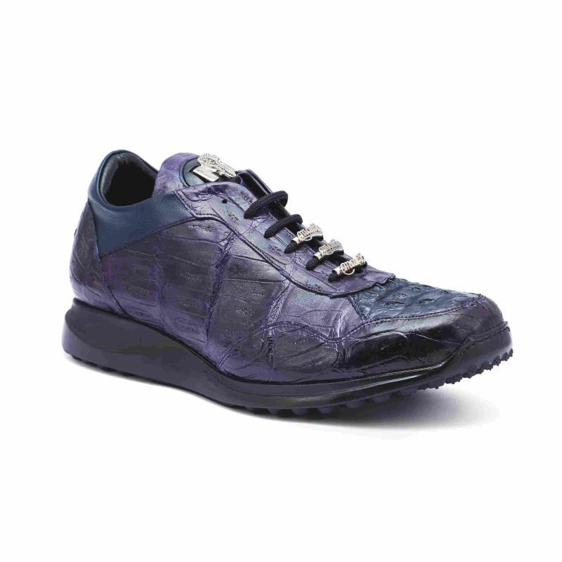 2020 Fall Mauri Everglades Baby Crocodile Lace Up Sneaker Shoe M789