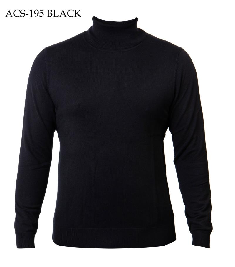 Prestige Turtle Neck Cotton  Knit Sweaters ACS 195