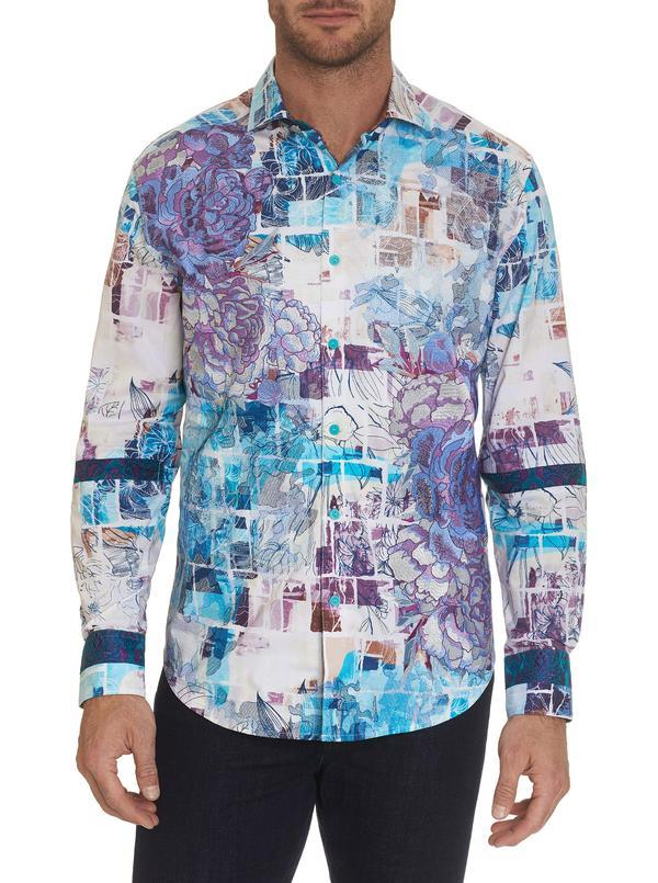 NEW Robert Graham Limited Edition Motostaligia Sport Shirt