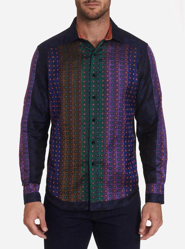 NEW Robert Graham Limited Edition Monaco Mix Sport Shirt