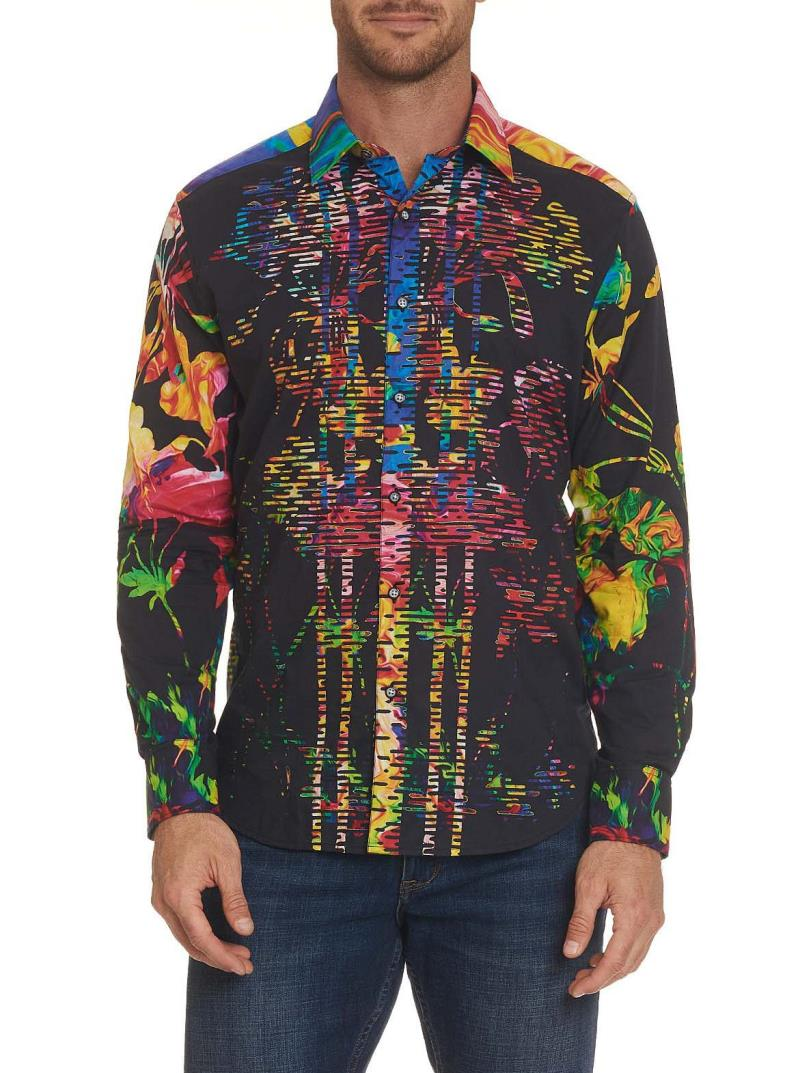 NEW Robert Graham Victory Bouquet Sport Shirt