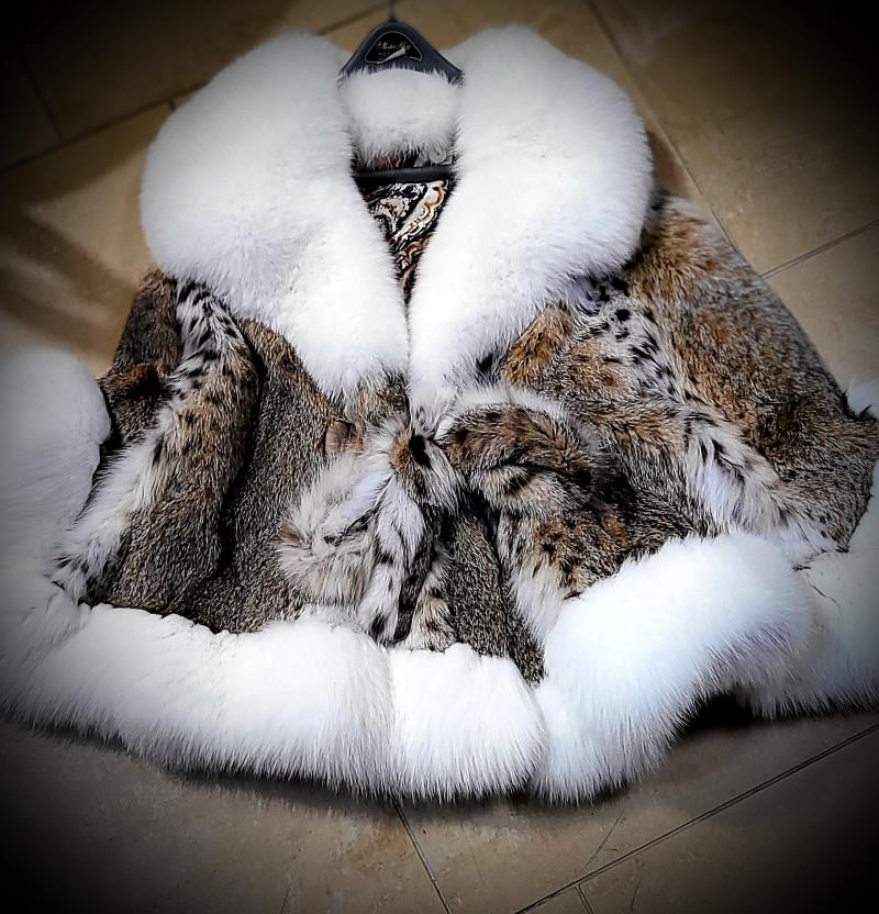 LYNX/BOBCAT CAPE ONE SIZE FIT ALL