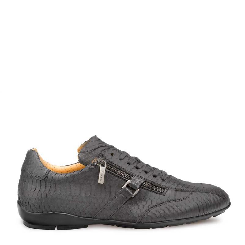 Mezlan Asahi Genuine Snake Slip On Sneaker Shoe 4687-SN