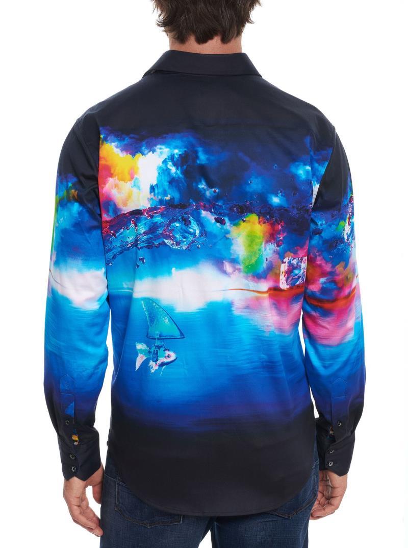 Robert Graham Dream State Embroidered Sport Shirt Multi