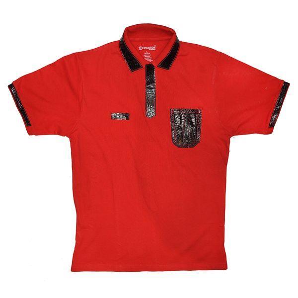 G GATOR JAKE WOOD Evolution Alligator Trim Polo Shirt