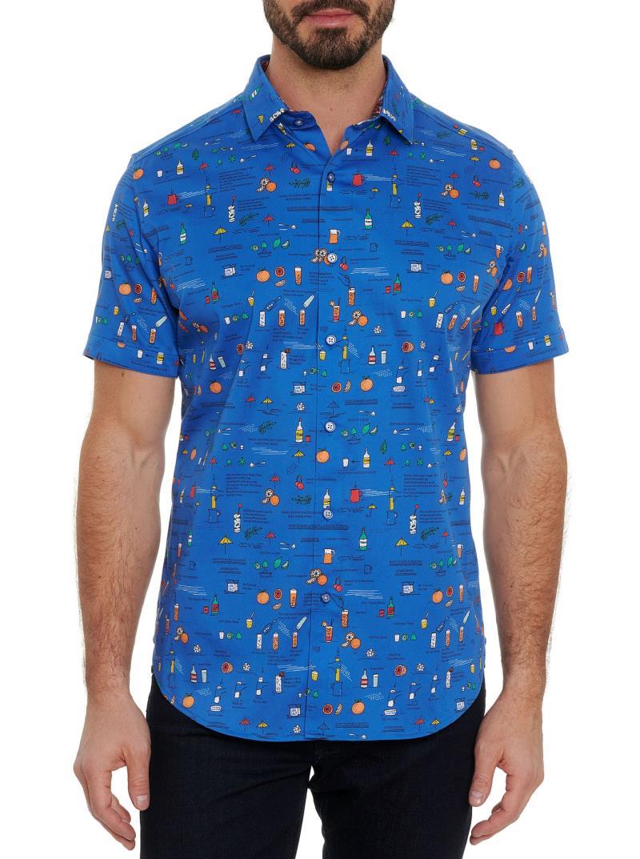 Robert Graham Brunch Short Sleeve Shirt Multi