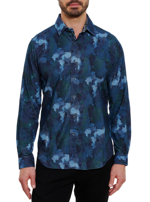 Robert Graham Beemon Corduroy Sport Shirt Multi