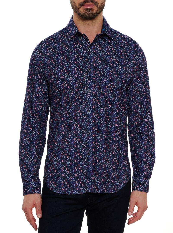 Robert Graham Beemer Corduroy Sport Shirt