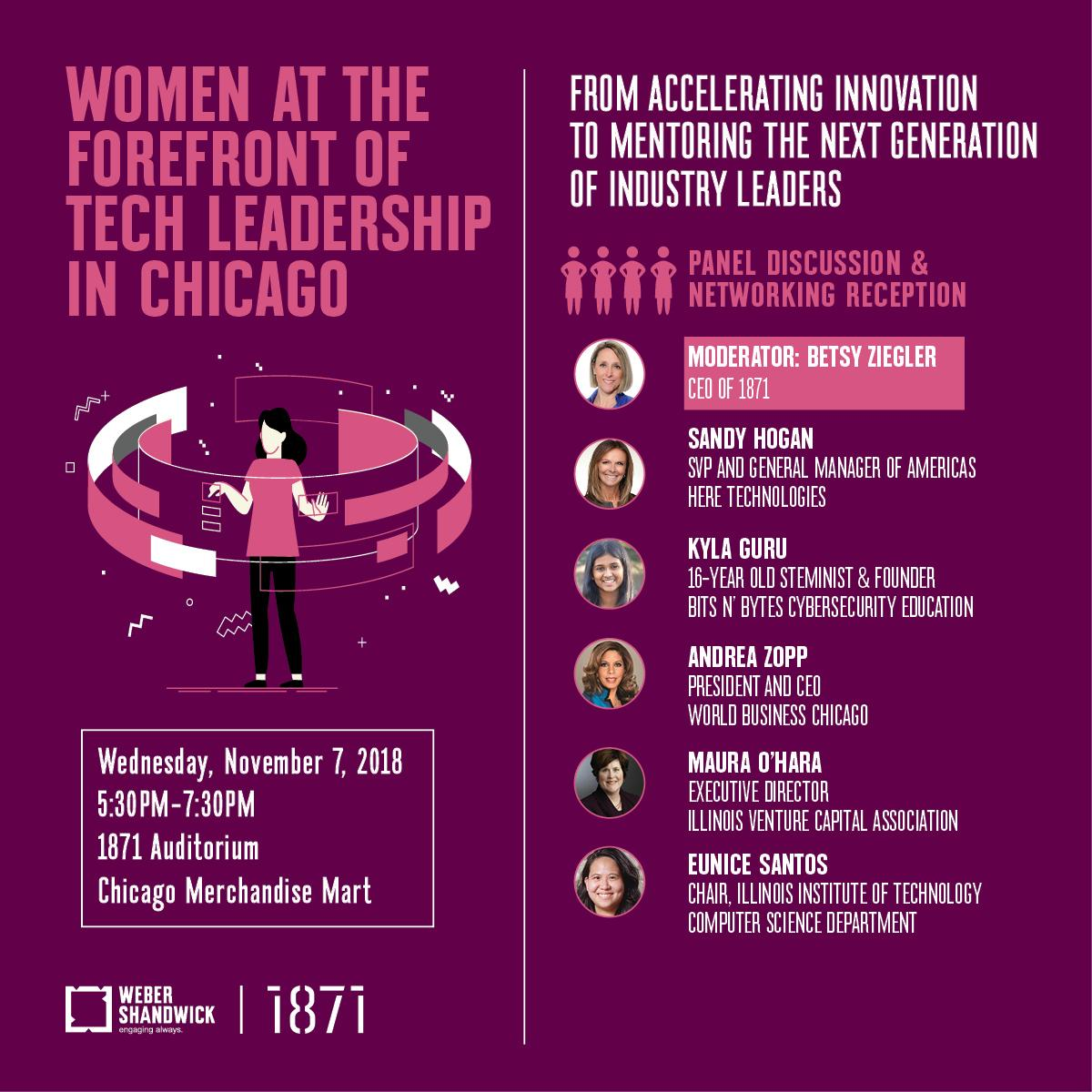 Women at the Forefront of Tech Leadership in Chicago
