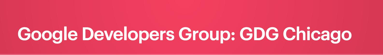 Lightning Talks with Google Developers Group
