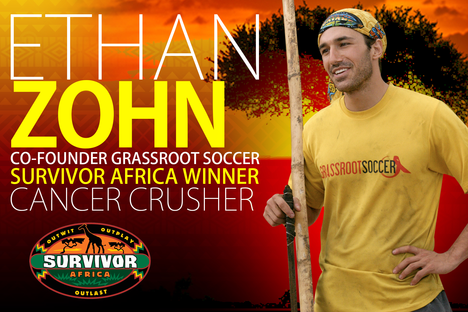 From Winning Survivor Africa To Crushing Cancer - A Discussion With Ethan Zohn
