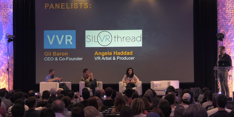 Storytelling in Virtual Reality with VR Producer, Angela Haddad