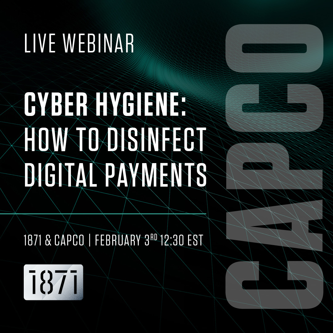 [VIRTUAL]  Good Cyber Hygiene: Strategies to Disinfect Digital Payments