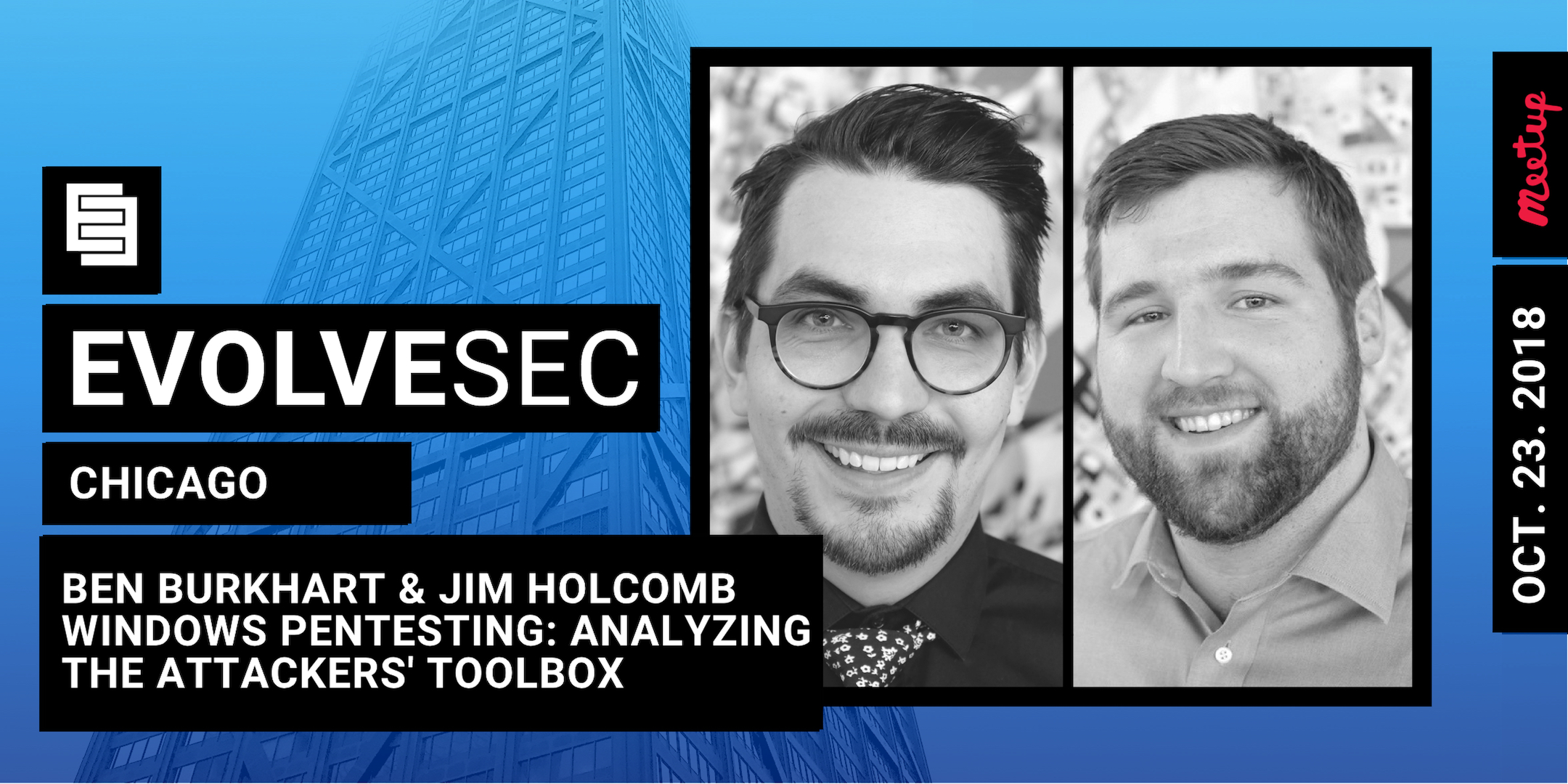 EvolveSec CHI // Windows Pentesting: Analyzing the Attacker's Toolbox