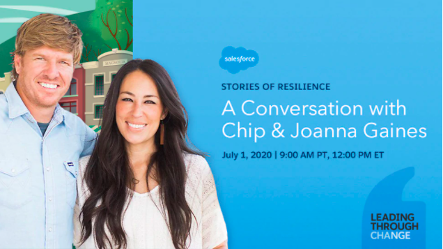 [VIRTUAL] Stories of Resilience: A Conversation with Chip & Joanna Gaines