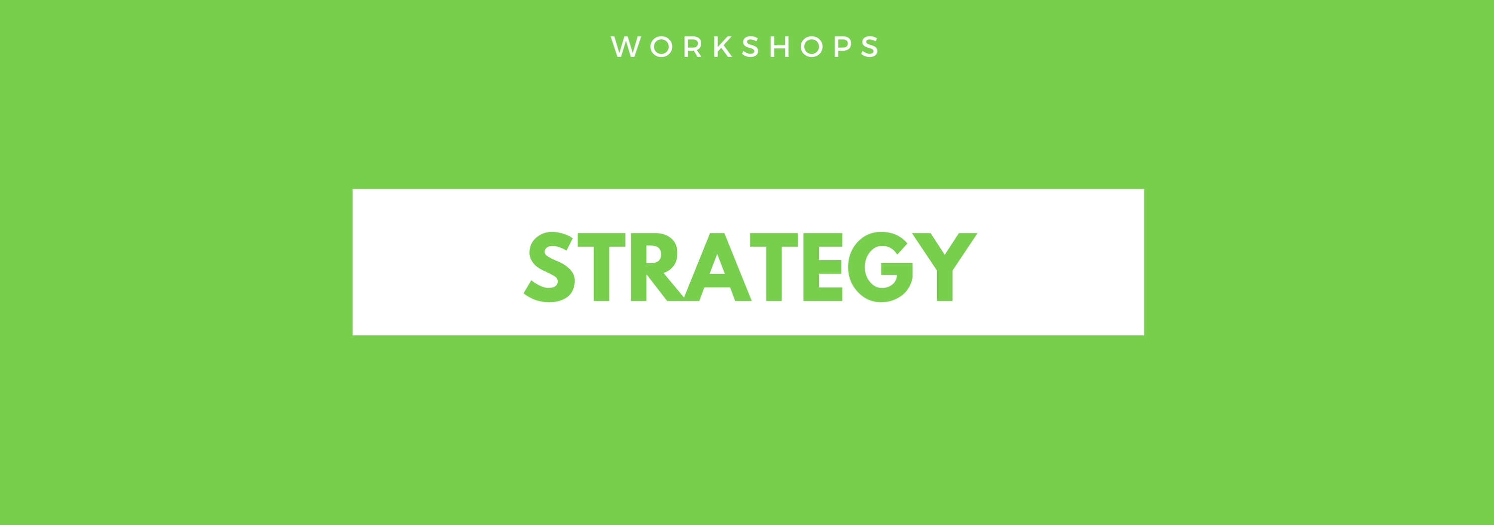 Strategy Design Workshop Using The Business Model Canvas with Business Models Inc.