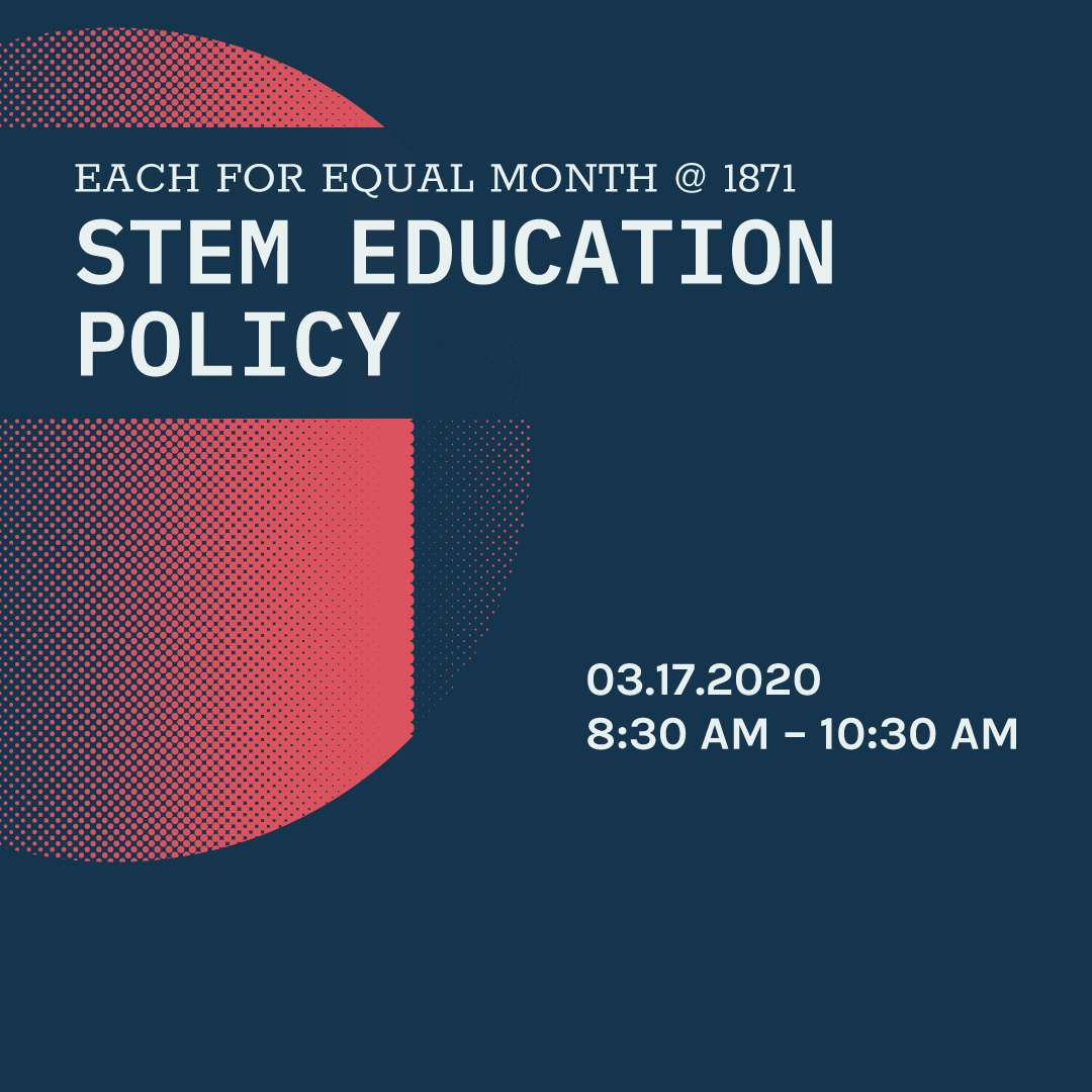 #EachforEqual in STEM Education Policy - VIRTUAL PANEL