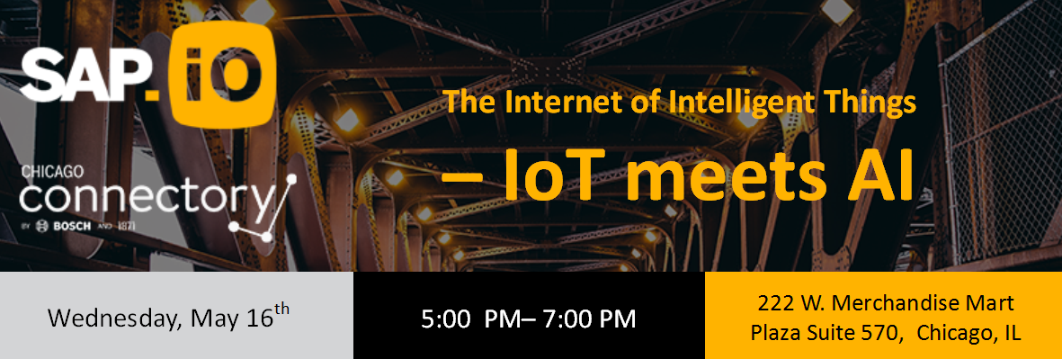 The Internet of Intelligent Things - IoT meets AI