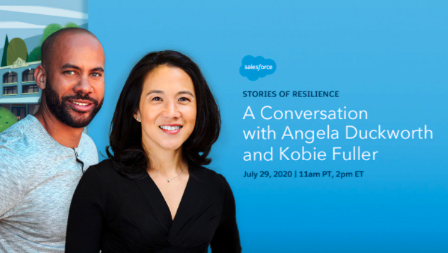 Stories of Resilience: A Conversation with Angela Duckworth and Kobie Fuller