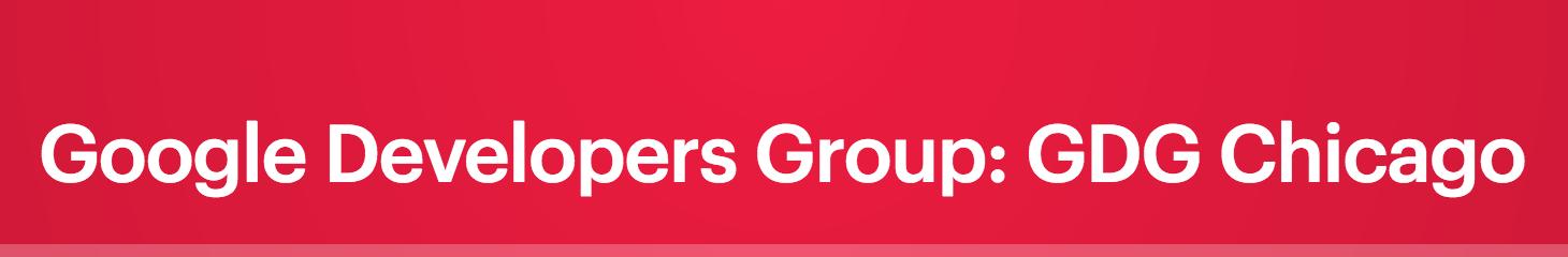 Google Dev Group: GCP Next Extended