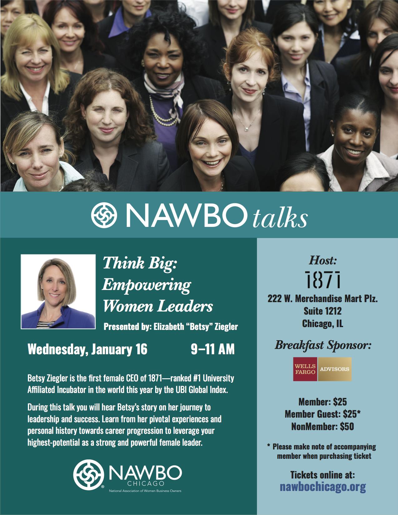 NAWBO Talks - Think Big: Empowering Women Leaders