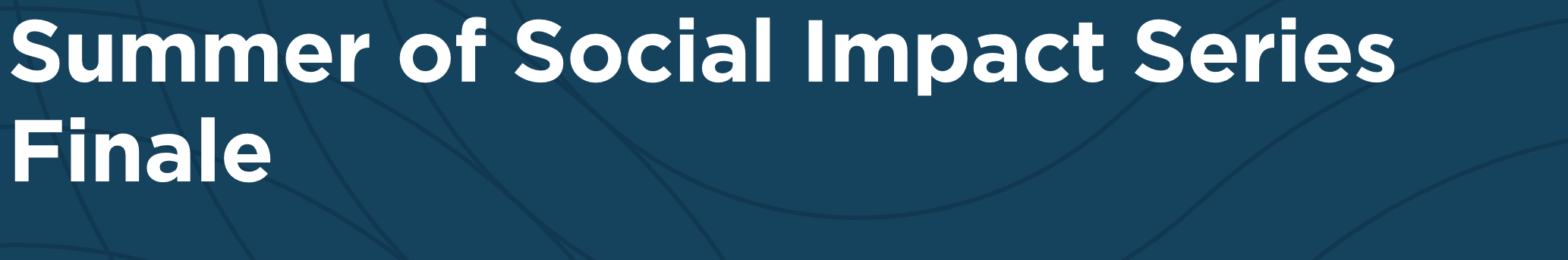 Summer of Social Impact Series: Machine Learning and Public Policy