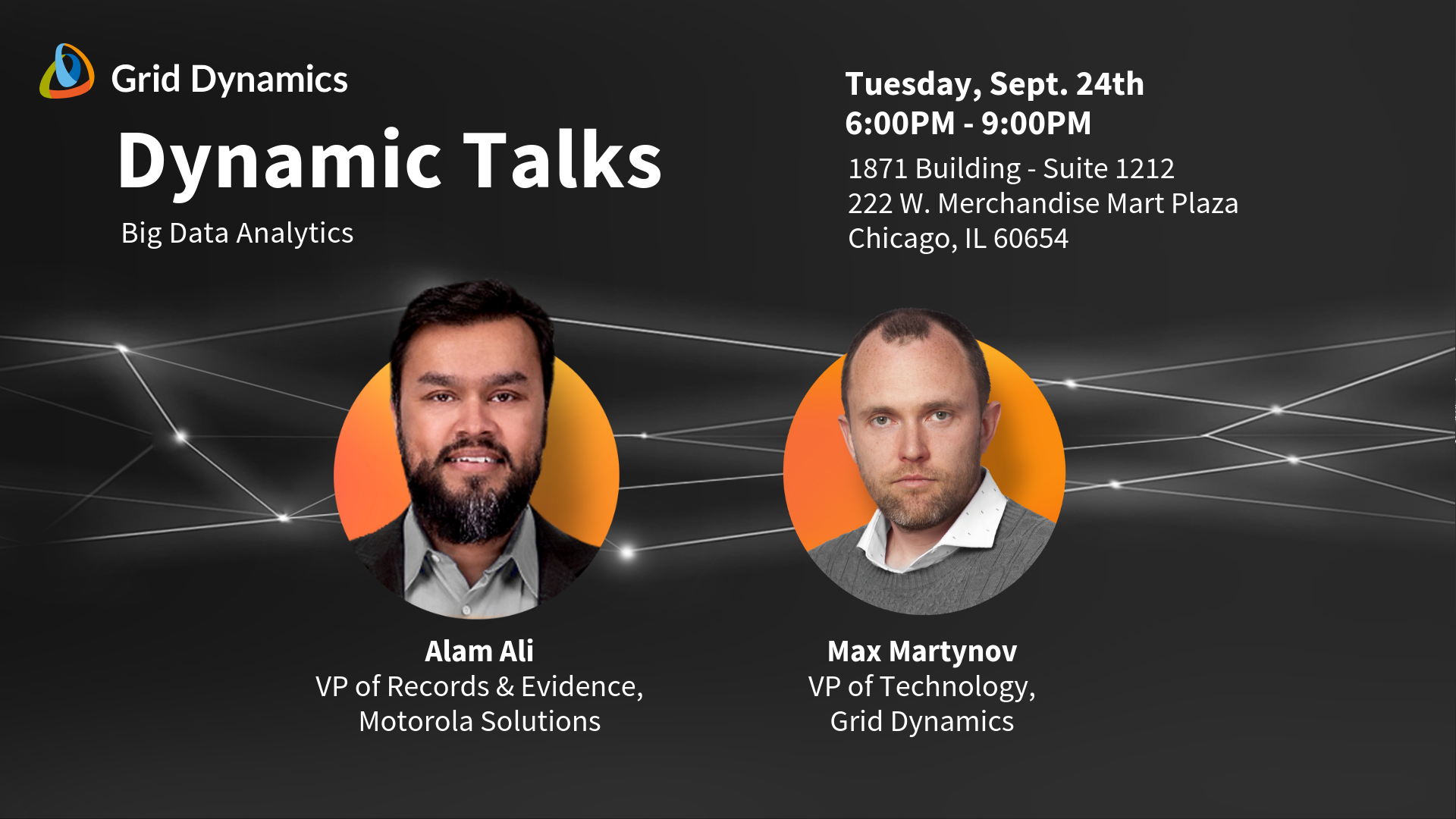 Dynamic Talks Chicago: Big Data Analytics