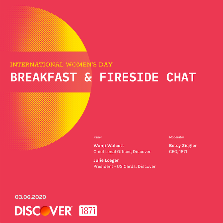 International Women's Day: Breakfast & Fireside Chat