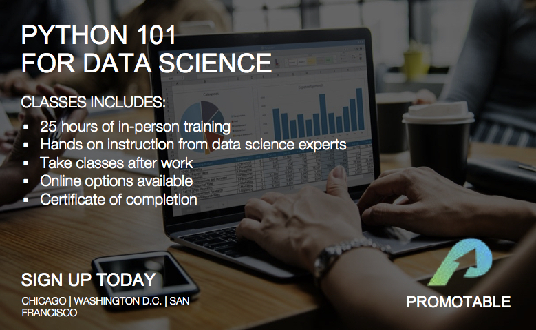 Python 101 for Data Science