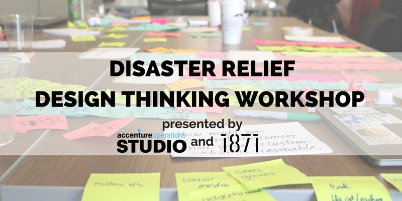 Disaster Relief Design Thinking Workshop