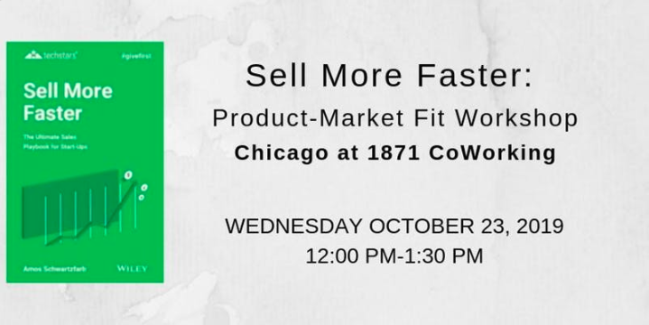 Sell More Faster: Finding Product-Market Fit Workshop