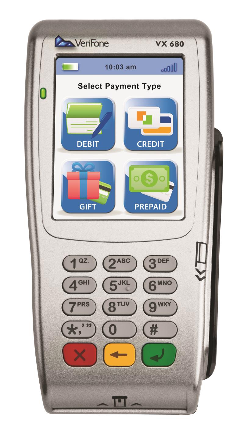 Refurb Verifone Vx680 3G EMV Wireless Terminal