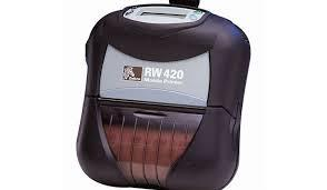 Zebra RW 420 Portable Printer