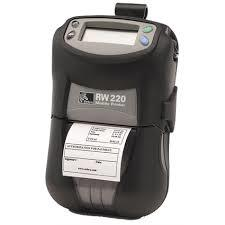 New Zebra RW220 Portable Receipt Printer