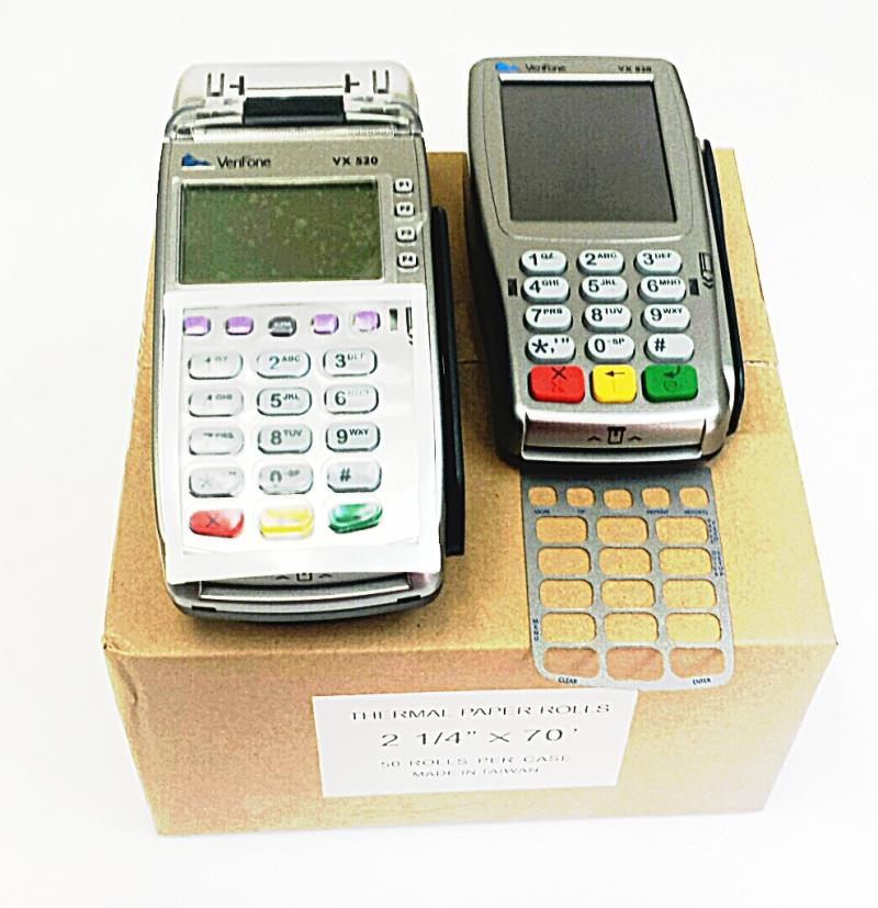 Verifone Vx520 EMV Credit Card Terminal and Vx805 Pin Pad Bundle